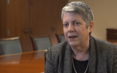 Time Lapse of Janet Napolitano shoot