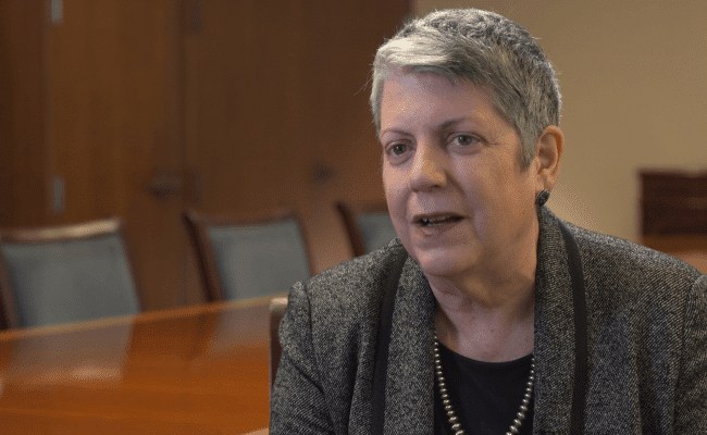 Janet Napolitano honored at Ben Guirion University