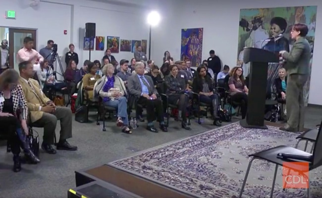 Live Stream Broadcast  Civic Design Lab with Mayor of Oakland LIbby Schaaf - streamed on Jan 30, 2018