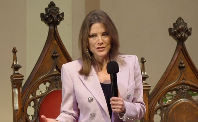 Marianne Williamson Live Stream at the First Unitarian Universalist Church of San Francisco