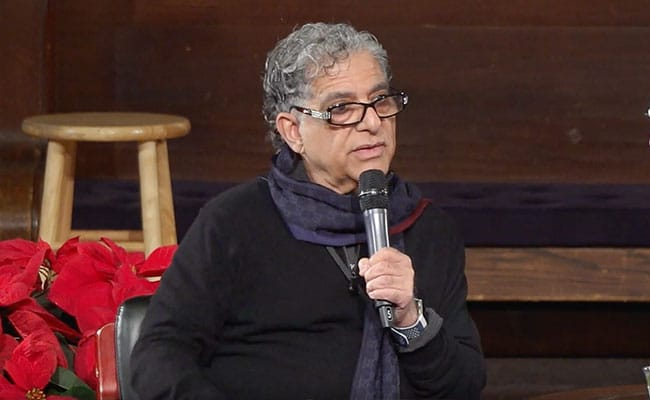 Deepak Chopra at the New York Society for Ethical Culture (Live Stream)