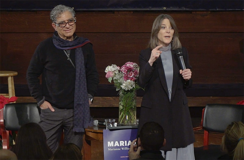 An Evening with Deepak Chopra and Marianne Williamson