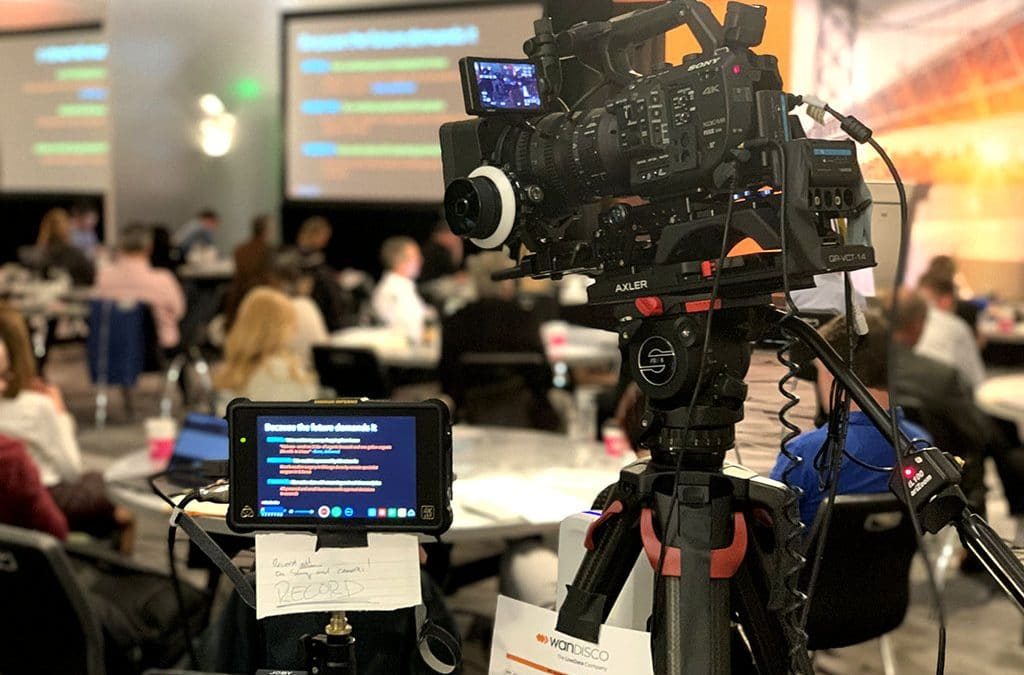 Live Event Video for Sales Kick-off, Seattle WA