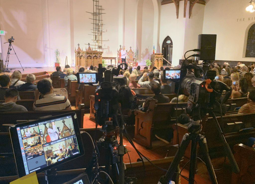 live stream your church service