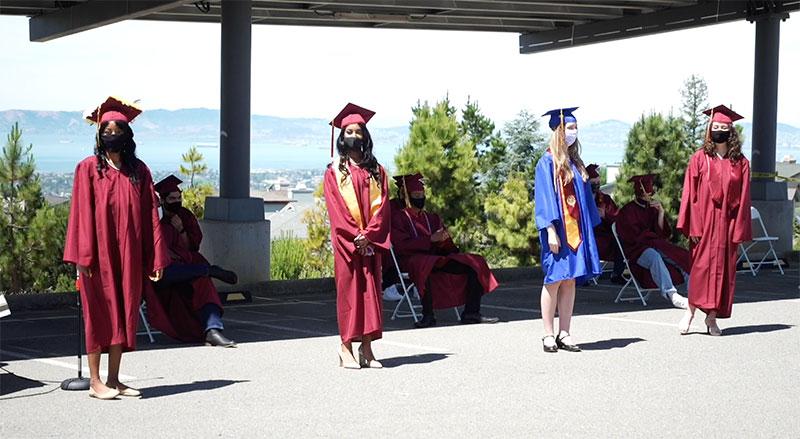 Live stream of COVA students at High School Graduation