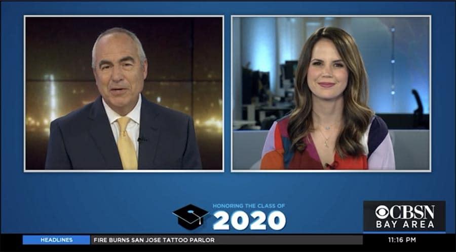 Honoring the class of 2020 CBSN news segment