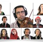 Aswat Ensemble musicians and singers perform for virtual concert