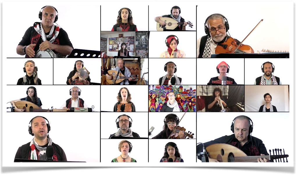 Aswat Music Ensemble virtual event