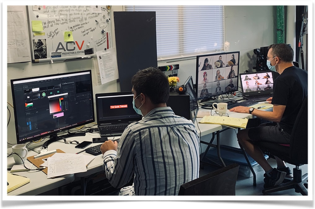 virtual events production Alan Cash Video